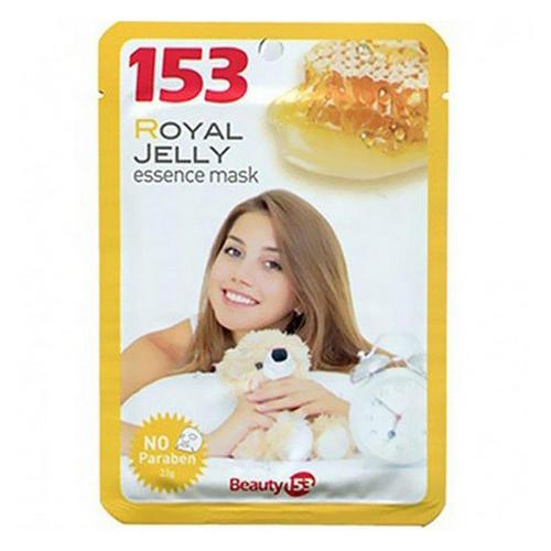 Тканевая маска для лица Beauty 153 с маточным молочком 1 шт (BeauuGreen, Для лица) маска с желатином для лица от морщин
