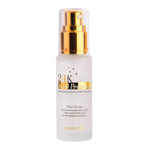 Сыворотка для лица 24K Gold Premium First Serum, 30 мл (Secret key, Essence ampoule)