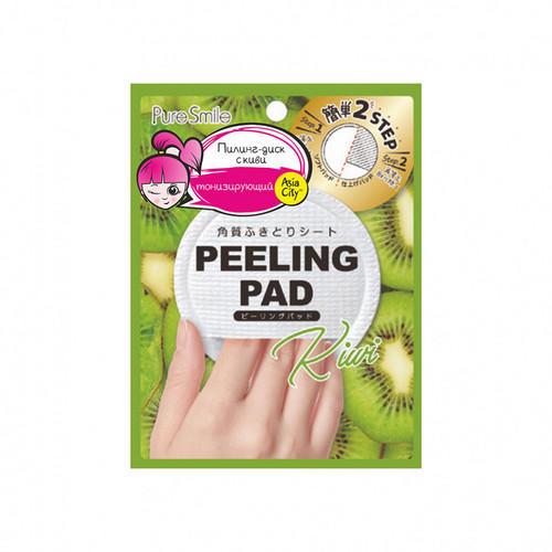Купить Sun Smile Пилинг-диск для лица с экстрактом киви 1 шт (Sun Smile, Peeling Pad), https://www.pharmacosmetica.ru/files/pharmacosmetica/reg_images/S55129.jpg