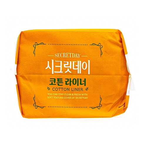 Купить Secret Day Ультратонкие дышащие органические ежедневные прокладки, 20 шт. (15 см) (Secret Day, Прокладки), Южная Корея