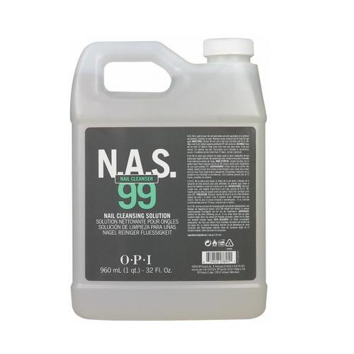 Дезинфицирующая жидкость для ногтей Nas99, 4х960 мл (O.P.I, Вспомогательные средства) комплектующие для дезинфекции инструментов