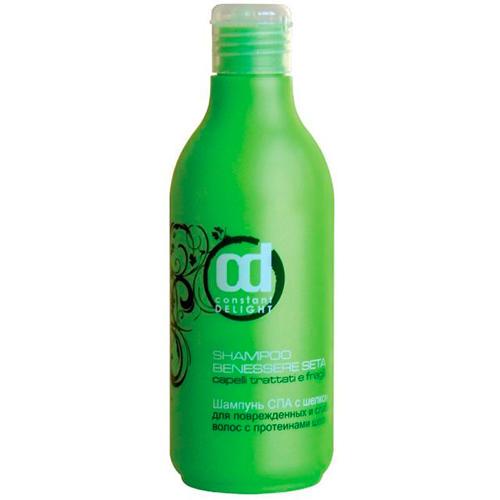 Купить Constant Delight Шампунь СПА с протеинами шелка для поврежденных волос Shampoo Benessere Seta, 250 мл (Constant Delight, Серия SPA с шелком), Италия