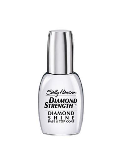 Средство 2 в 1 база и верхнее покрытие diamond strength diamond shine base top coat 13,3 мл (Sally Hansen, Nailcare) mantra подвесная люстра mantra loop antique brass 1821