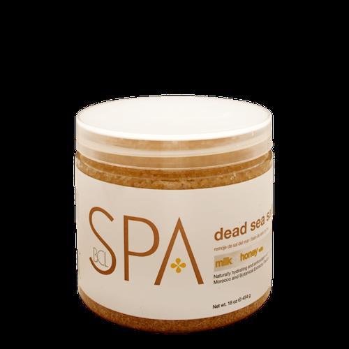 BCL Соль для ванночек молоко+мед 454г (SPA)