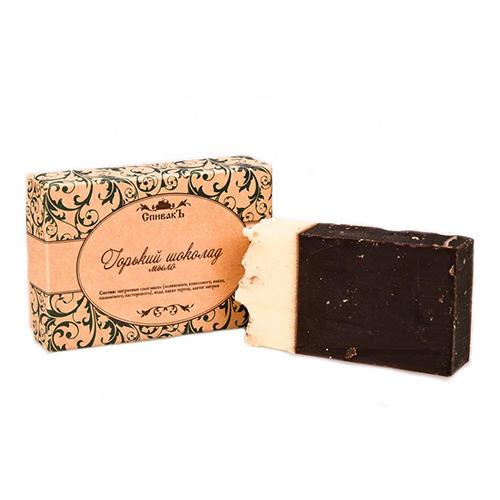 Мыло Горький Шоколад, премиум, 100 г (Спивакъ, Мыло) коммунарка шоколад горький беловежская пуща элит 200 г