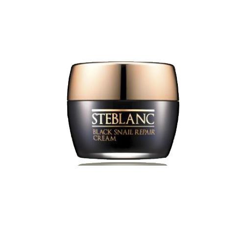 Steblanc Крем для лица восстанавливающий с муцином Черной улитки 50мл (Black snail)