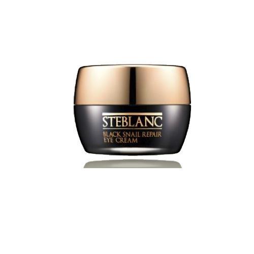 Крем для ухода за кожей вокруг глаз восстанавливающий с муцином Черной улитки 30мл (Steblanc, Black snail)