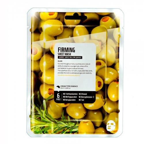 Купить Superfood Salad for Skin Тканевая маска Олива - Упругость Facial Sheet Mask Olive Firming 25 мл (Superfood Salad for Skin, Тканевые маски)