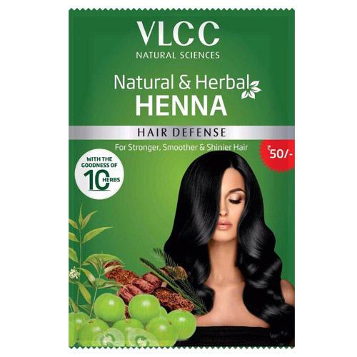 VLCC Натуральная пудра из хны  120 гр (VLCC, Henna)