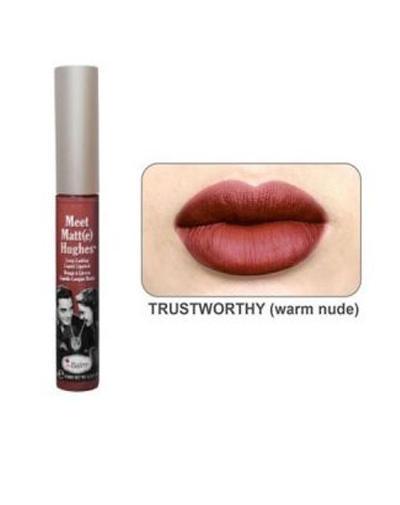 Стойкий матирующий блеск для губ Meet Matt(e) Hughes Trustworthy (Thebalm, Губы) стойкий матирующий блеск для губ meet matt e hughes charming thebalm губы