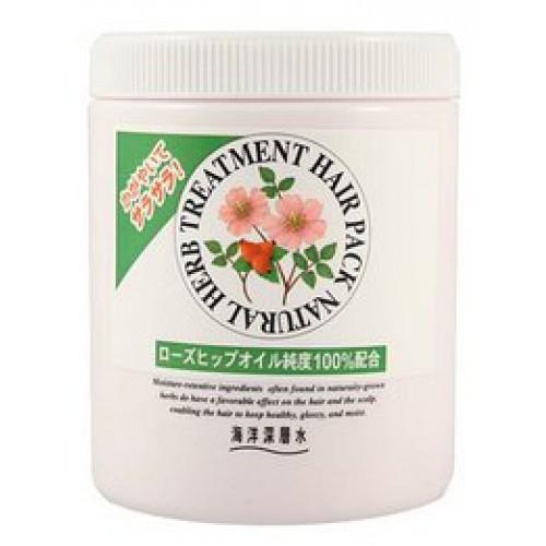 Купить Junlove Маска на основе натуральных растительных компонентов (с маслом шиповника, для нормальных волос) 800 мл (Junlove, Для волос), Япония