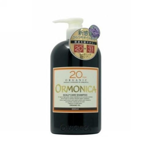 Ormonica Органический шампунь для ухода за волосами и кожей головы 550 мл (Ormonica, Для волос)