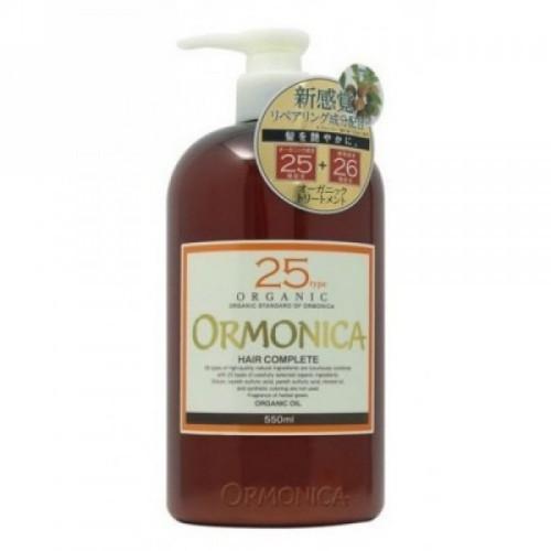 Ormonica Органический бальзам для ухода за волосами и кожей головы 550 мл (Ormonica, Для волос)