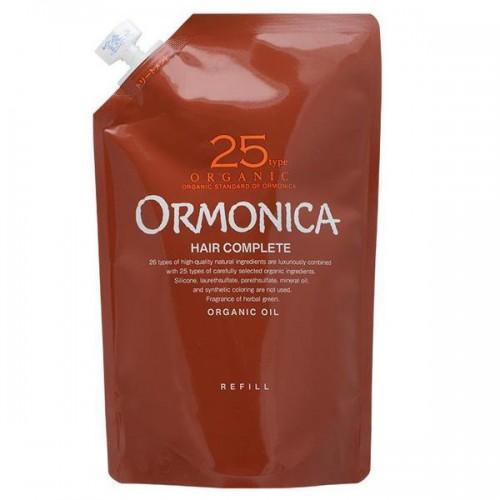 Ormonica Органический бальзам для ухода за волосами и кожей головы запасной блок 400 мл (Ormonica, Для волос)