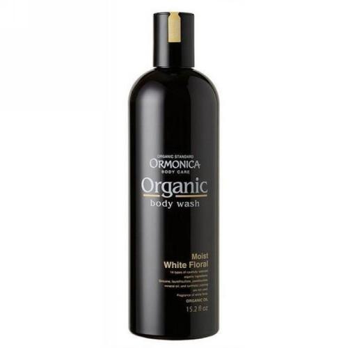 Ormonica Органическое жидкое мыло для тела увлажняющее аромат белых цветов, 450 мл (Ormonica, Для тела)