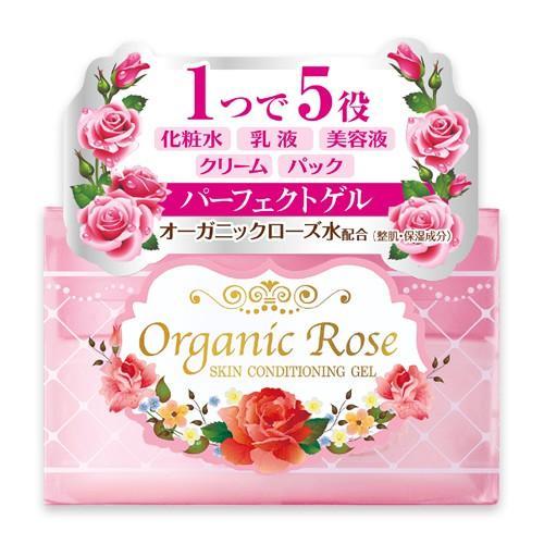 Купить Meishoku Увлажняющий гель-кондиционер для кожи лица с экстрактом дамасской розы 90 г (Meishoku, Уход за лицом), Япония