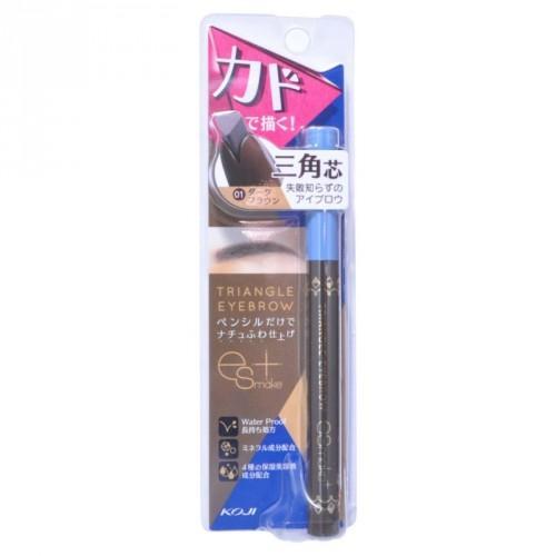 Купить Koji Карандаш для бровей влагостойкий, темно-коричневый тон 1 (Koji, Макияж)