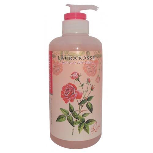 Жидкое мыло для тела Ароматерапия Роза 500 мл (Laura Rosse, Уход за телом)