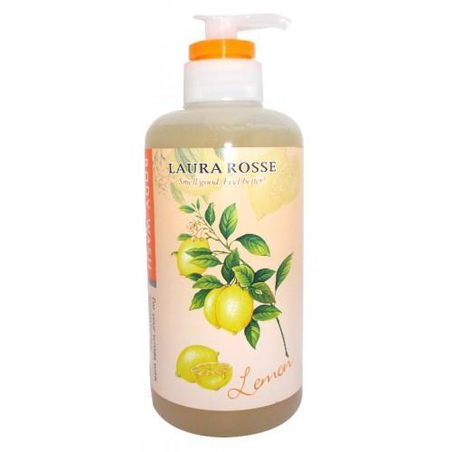 Жидкое мыло для тела Ароматерапия Лимон 500 мл (Laura Rosse, Уход за телом)
