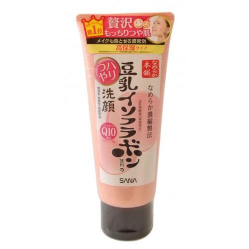 Купить Sana Пенка для умывания и снятия макияжа увлажняющая с изофлавонами сои и капсулированным коэнзимом Q10 150 г (Sana, Для лица), Япония