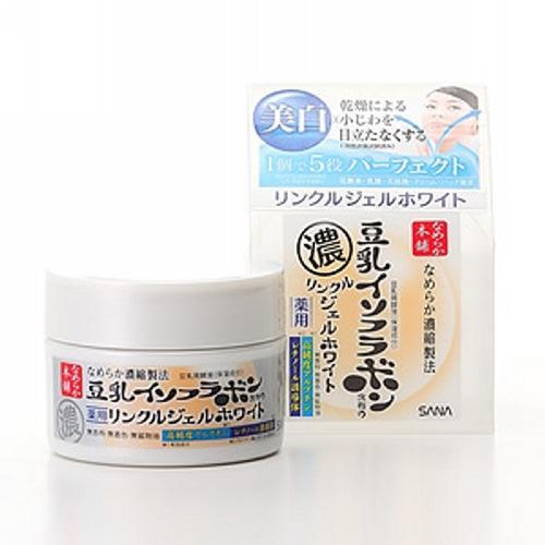 Купить Sana Увлажняющий и подтягивающий крем-гель с ретинолом и изофлавонами сои с осветляющим эффектом 100 г (Sana, Для лица), Япония