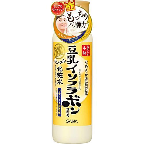 цены Sana Увлажняющий и подтягивающий лосьон с ретинолом и изофлавонами сои 200 мл (Sana, Для лица)