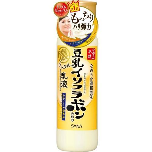 Sana Увлажняющее и подтягивающее молочко с ретинолом и изофлавонами сои 150 мл (Sana, Для лица)