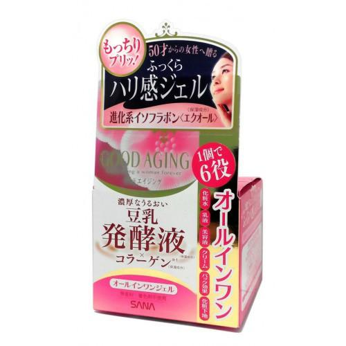 Sana Увлажняющий и подтягивающий крем для зрелой кожи 6 в 1 100 г (Sana, Для лица)