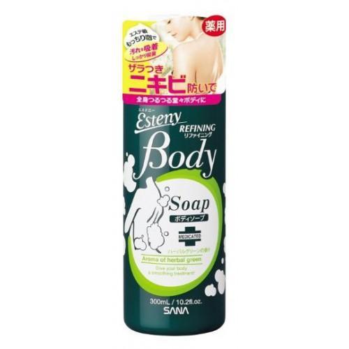 Купить Sana Шампунь для проблемной кожи тела с ароматом свежих трав 300 мл (Sana, Для тела), Япония