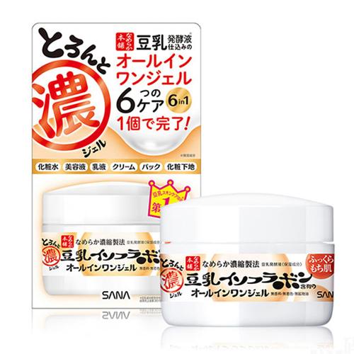 Купить Sana Крем - гель увлажняющий с изофлавонами сои 6 в 1 100 мл (Sana, Для лица), Япония