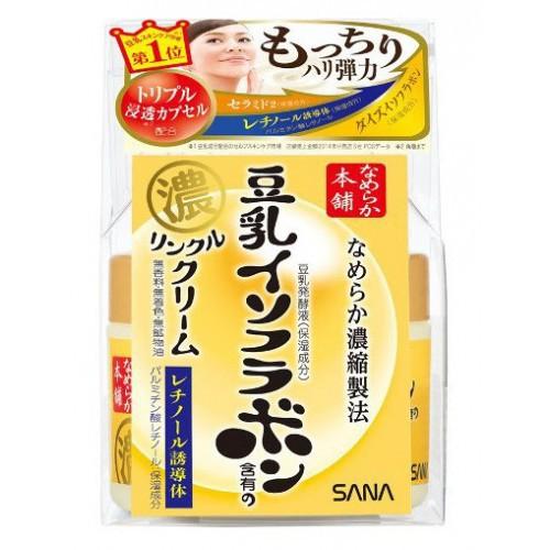 Увлажняющий и подтягивающий кремгель с ретинолом и изофлавонами сои 100 г (Sana, Для лица) все цены