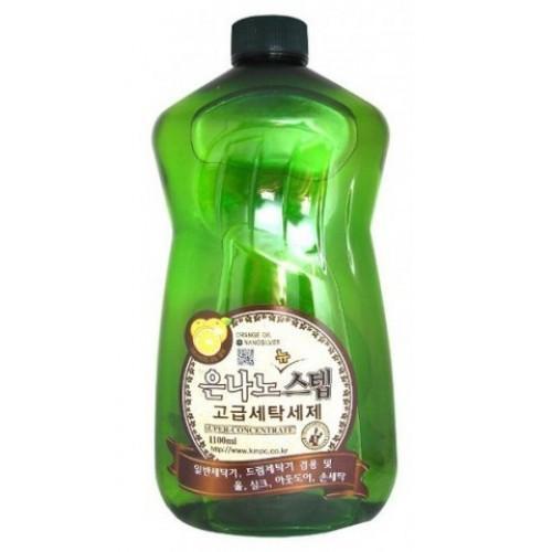 KMPC Жидкое средство для стирки с серебром 1100 мл (KMPC, Бытовая химия)