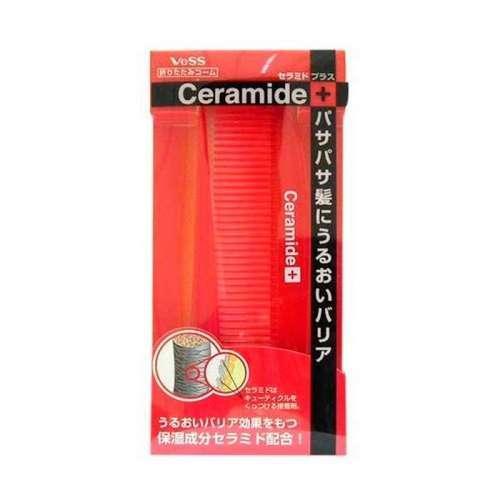 VeSS Расческа для увлажнения и смягчения волос с церамидами (складная) (VeSS, Расчески) несмываемое масло для волос