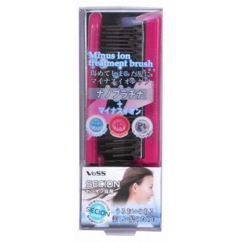VeSS Щетка массажная для ухода за волосами с отрицательно заряженными ионами (складная) (VeSS, Расчески) фото