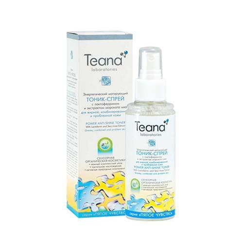 Teana Энергетический матирующий тоник-спрей с лактоферрином для проблемной кожи 150 мл (Teana, Пятое чувство)