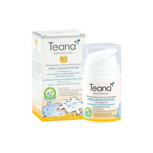 Teana Мультиламеллярный крем-себоконтроль с лактоферрином 50 мл (Пятое чувство)