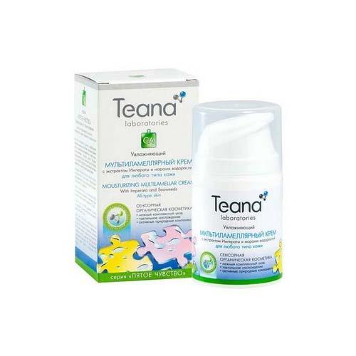 Teana Увлажняющий мультиламеллярный крем с экстрактом Императы 50 мл (Пятое чувство)