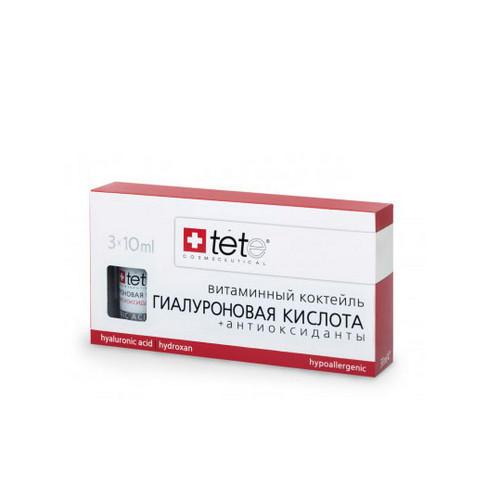 Гиалуроновая кислота Антиоксиданты 30 мл (TETе Cosmeceutical, Для лица) гиалуроновая кислота 100 30 мл tetе cosmeceutical для лица