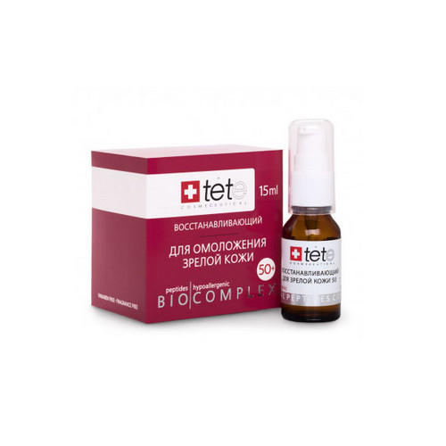 TETе Cosmeceutical Биокомплекс восстанавливающий для зрелой кожи 50+ 15 мл (TETе Cosmeceutical, Для лица)