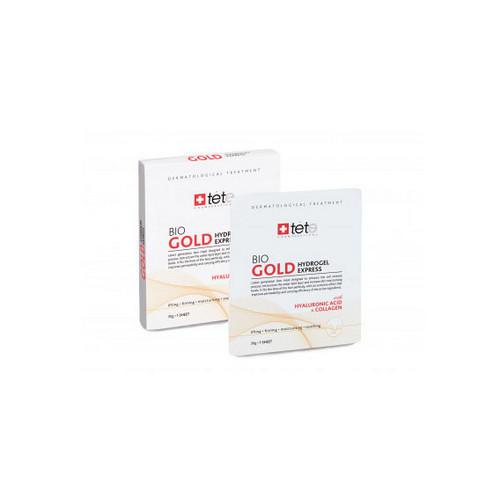 Коллагеновая маска моментального действия с коллоидным золотом 4 шт (TETе Cosmeceutical, Для лица) цены онлайн