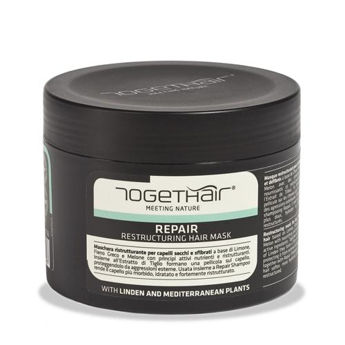 Фото - Togethair Восстанавливающая маска для ломких и поврежденных волос 500 мл (Togethair, Repair) togethair восстанавливающая минерализованная маска против выпадения волос 250 мл togethair scalp treatments