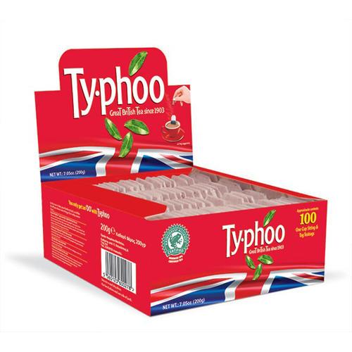 Typhoo Чай черный английский 100 пак 200г (Black tea)
