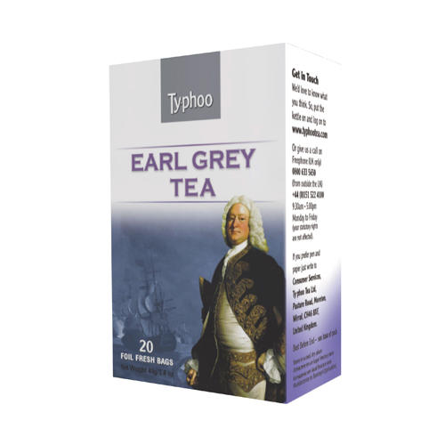 Typhoo Чай черный Эрл Грей 20 пак (Black tea)