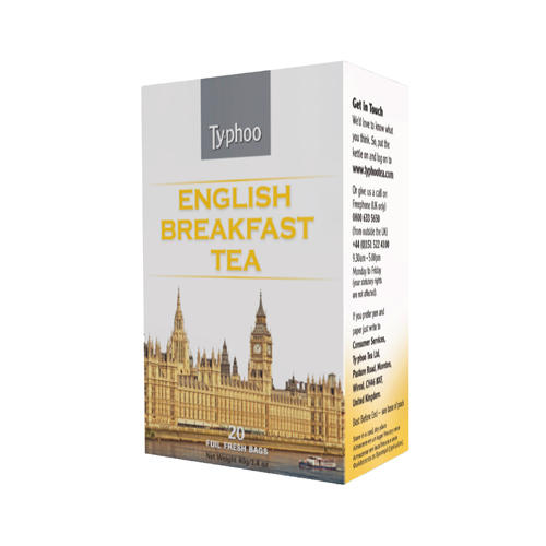 Typhoo Чай черный Английский завтрак 20 пак (Black tea)