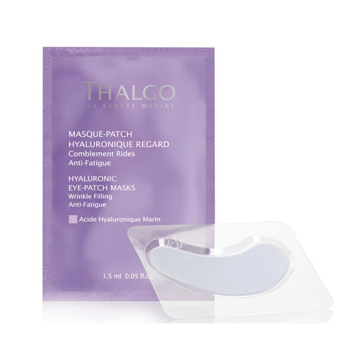 Thalgo Гиалуроновые маски-патч для кожи вокруг глаз 8x2 мл (Hyaluronigue)