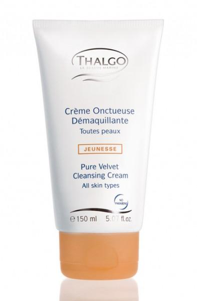 Бархатистый очищающий крем для нормальной и комбинированной кожи 150 мл (Purete) (Thalgo)