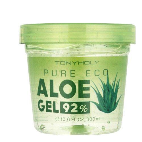 Tony Moly Многофункциональный увлажняющий гель с натуральным соком алое вера 92% 300 мл (Aloe)