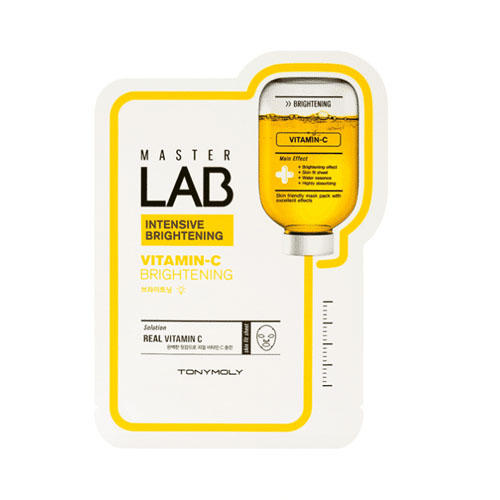 Отбеливающая маска на основе витамина С 19 мл (Tony Moly, Master Lab) цена