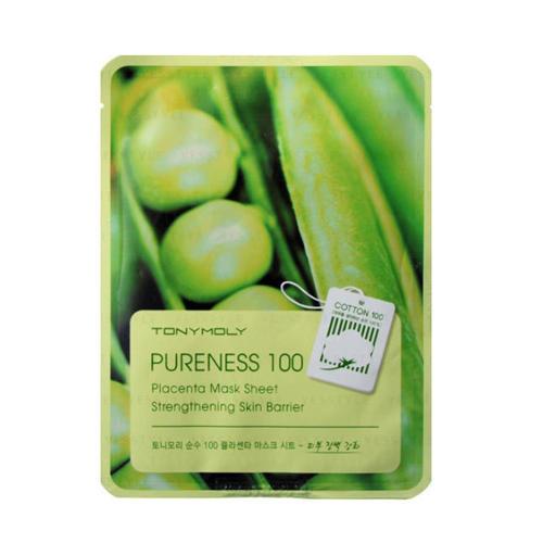 Тканевая маска с фито-плацентарным экстрактом соевых бобов 21 мл (Pureness) (Tony Moly)