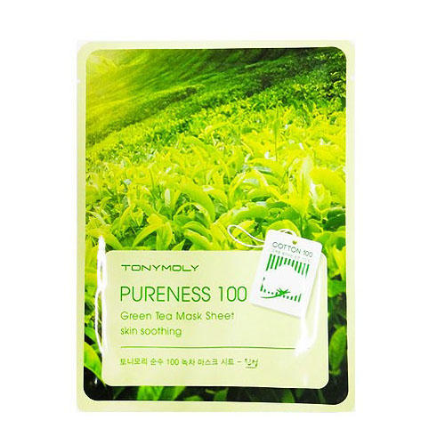 Тканевая маска для лица с экстрактом чайного дерева 21 мл (Pureness)